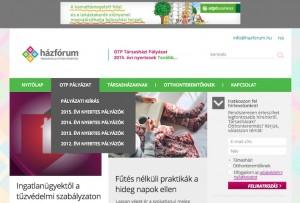 OTP Bank Taktikon Házfórum tartalommarketing projekt